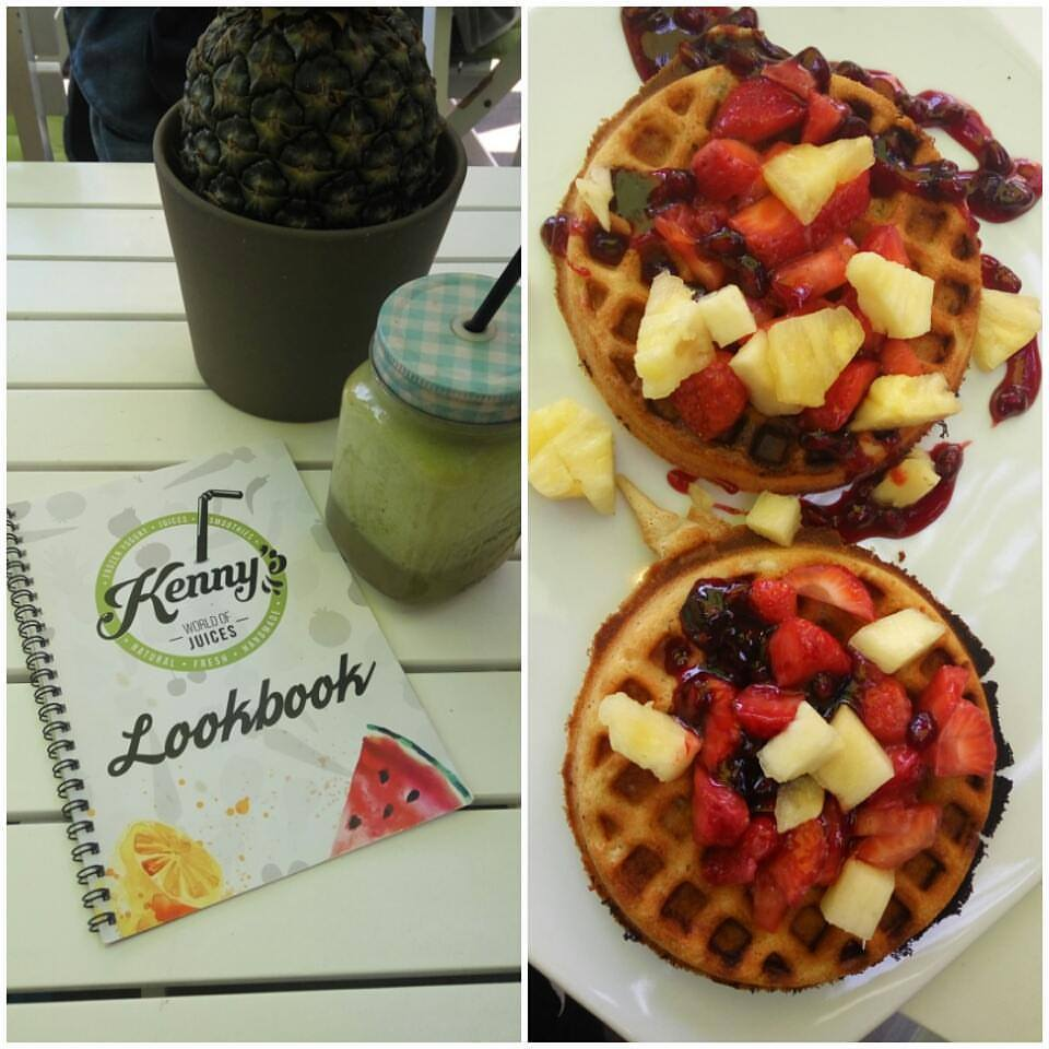 Waffeln & Green Smoothie