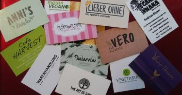 Bunte Vielfalt veganer Lokale