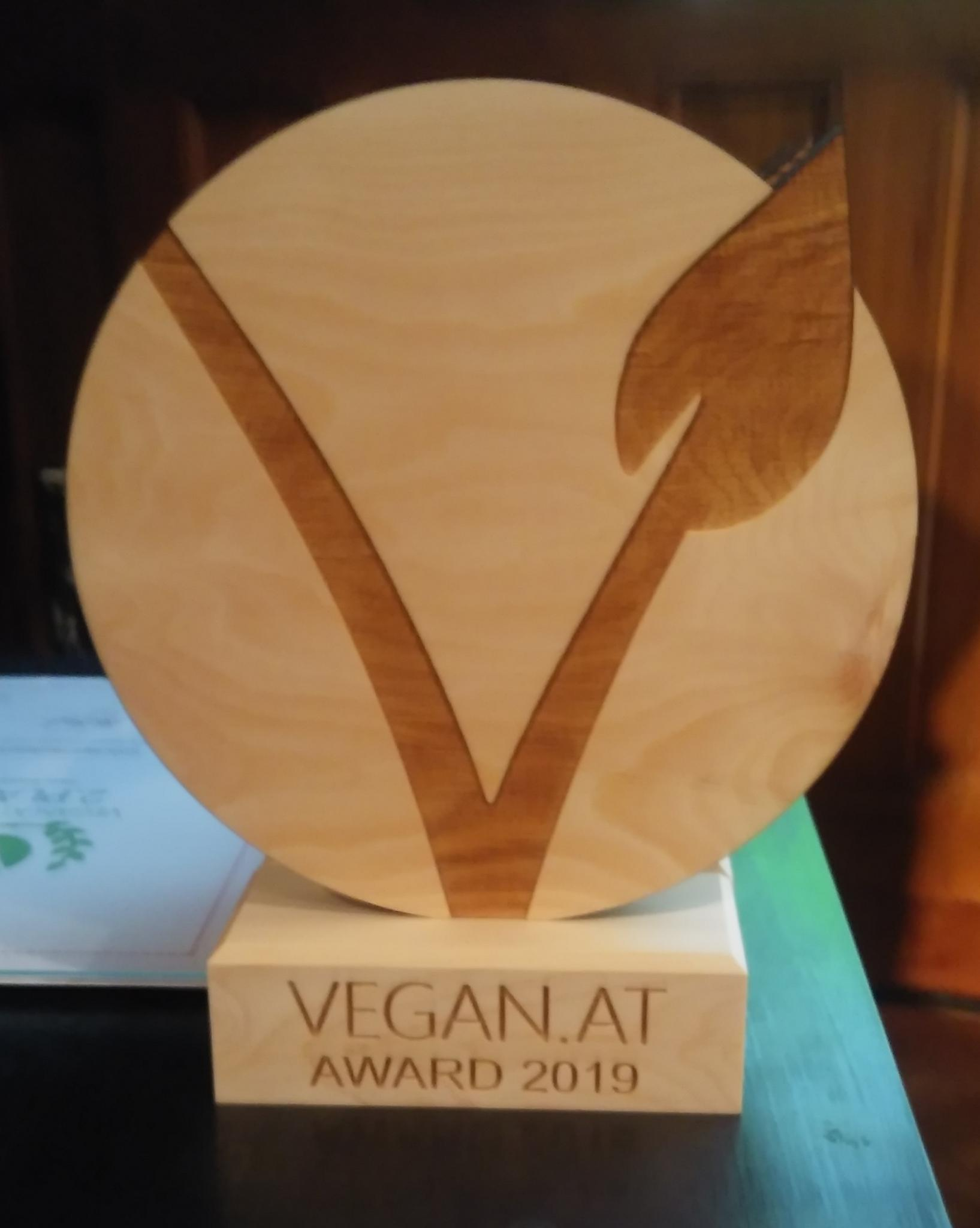 Vegan Award 2019